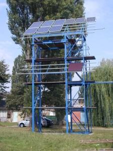 testovací věž